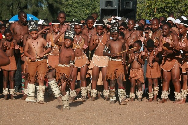 Traditional dance... Talent.