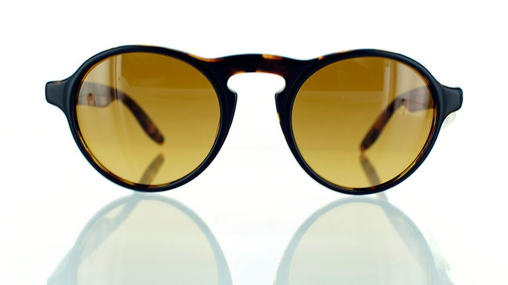 "Barton Perreira Darwin : Designer round sunglasses - find this Great ""Glassby"" look at Goo Goo Eyes | http://googooeyes.com"