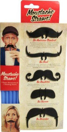 Snor rietjes haha. Paladone Moustache Straws: Amazon.co.uk: Kitchen & Home