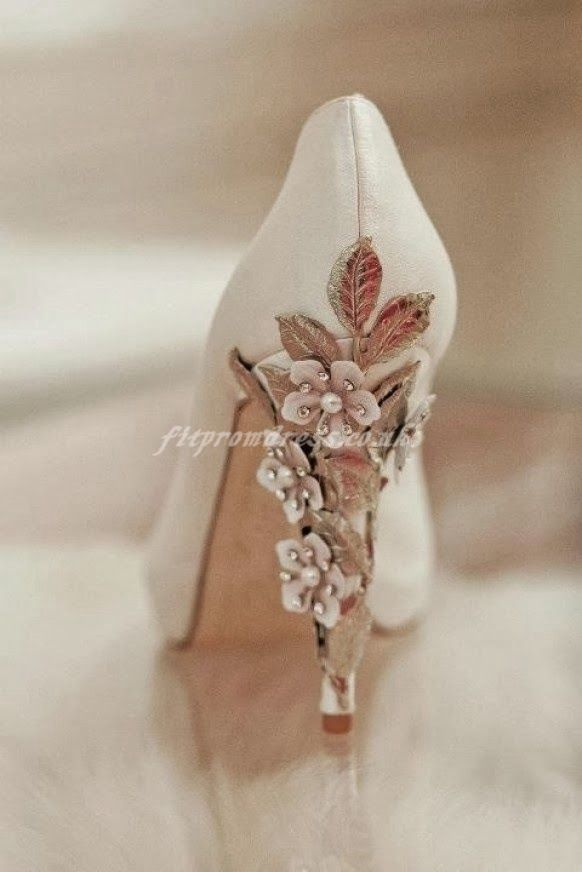 Oh my goodness! Wedding shoes!