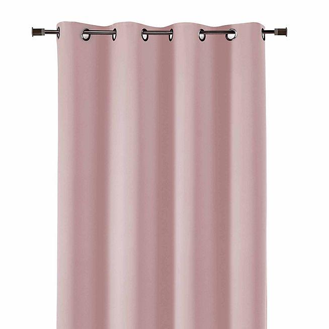 1000 id es sur le th me rideaux roses sur pinterest rideaux rideaux rouges et rideaux volants. Black Bedroom Furniture Sets. Home Design Ideas
