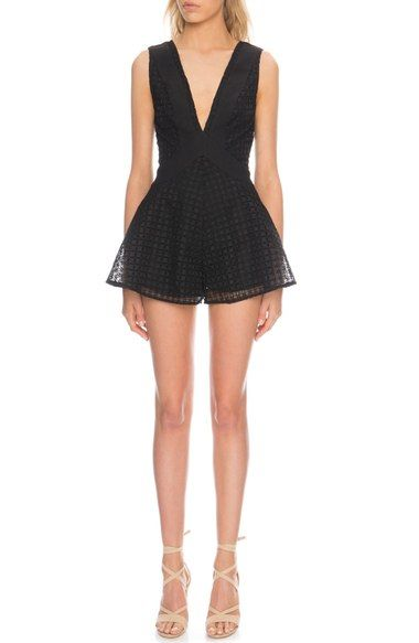 Finders Keepers the Label 'Begin' Embroidered Romper available at #Nordstrom