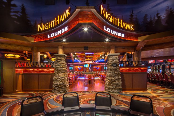 Sketch Of The New Nighthawk Lounge Design