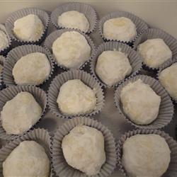 Italian Wedding Cookies With Recipe