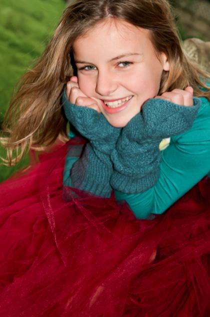 Cute Tween Portrait.