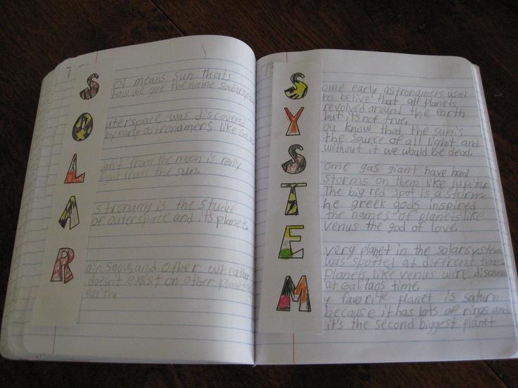 classroom solar system poem - photo #3