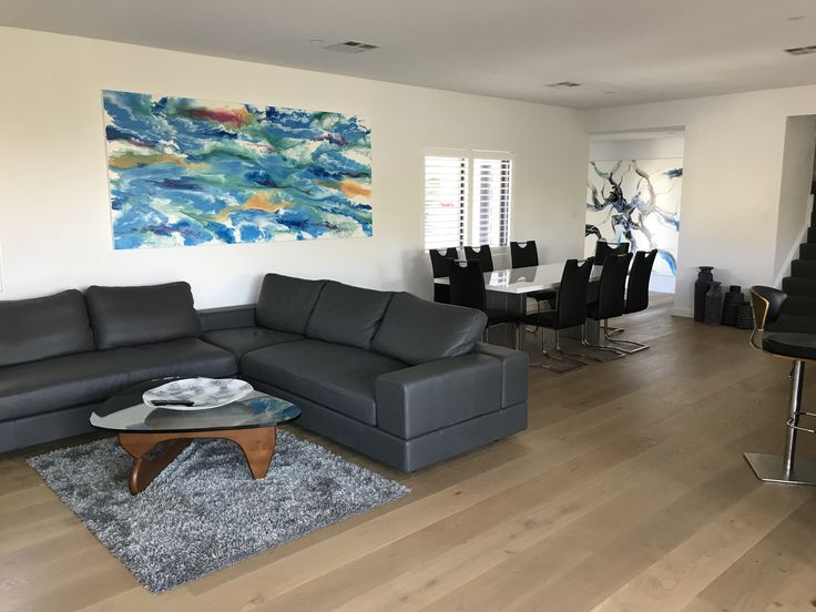 Artwork by Glenn Farquhar 260cm x 120cm created at Art Fusion Studio & Gallery Sydney acrylic on canvas #artfusion #artfusionart #interiordesignart #artideas #interior #design #decorart #artwork #artlessons #artsydney #artstudio #artist #art #customart