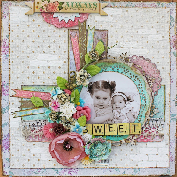 Sweet by Amy Prior using Core'dinations cardstock & Melissa Frances Cést La Vie + 5th Avenue Collections available from www.passion4paper.com.au