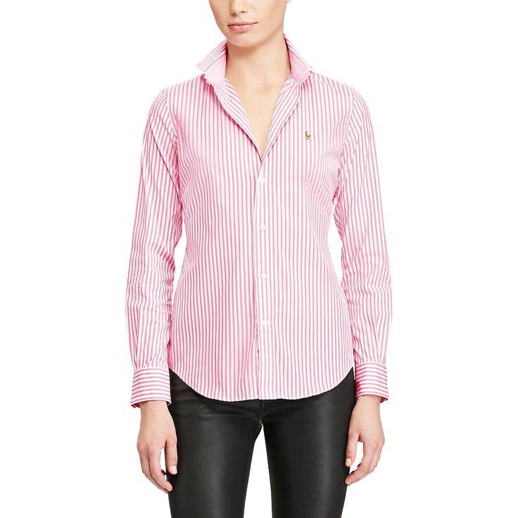Dieses Button-down-Hemd aus Baumwollpopeline mit Stretchanteil für viel Bewegungsfreiheit ist eine elegante Wahl fürs Büro und vervollständigt jeden edlen Wochenend-Look.