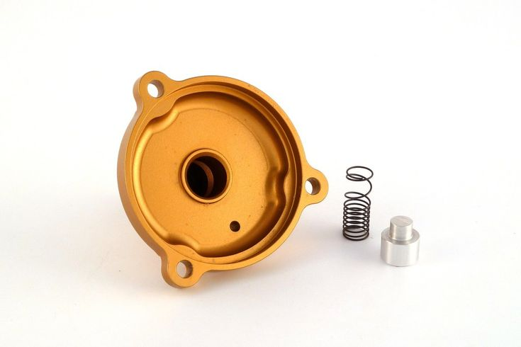 VHM Power Valve Adjuster with 2 Stage Spring for a KTM 65sx 2009-2017. VHM power valve adjuster with 2 stage spring, you are able to adjust the opening timing of the power valve easily with the screw. The first stage of the spring allows the power valve open very easily for a better and direct response. The second part of the spring keeps the power valve fully open for a maximum exhaust flow.