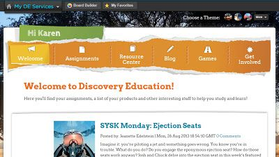 i Teach With Technology: Discovery Education's Board Builder