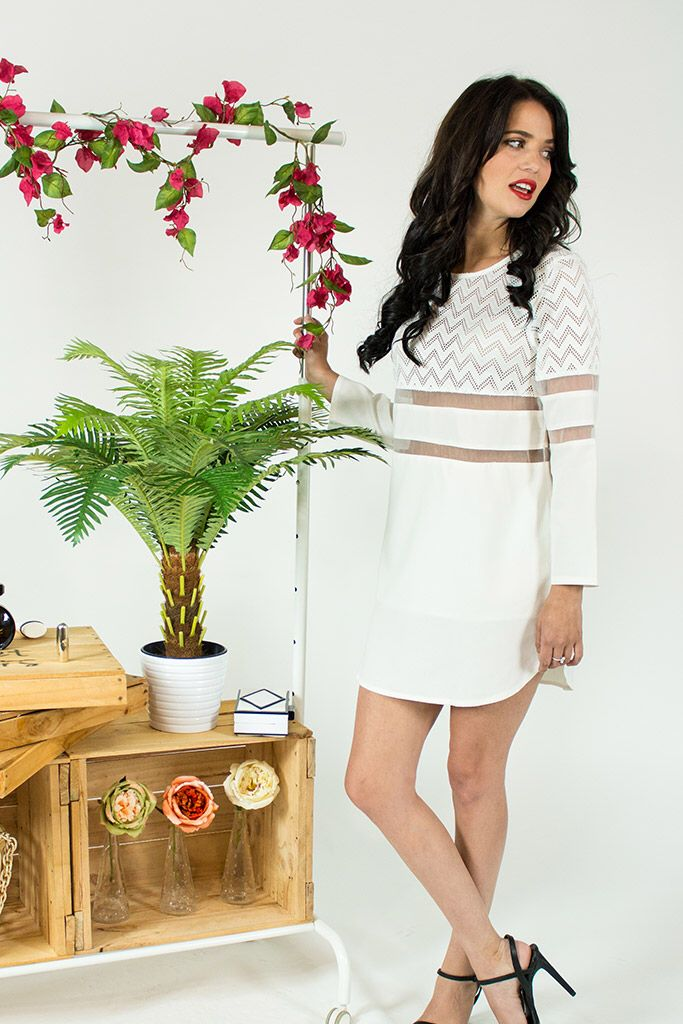 Sheet Cu tout Dress. Trishgstore.com