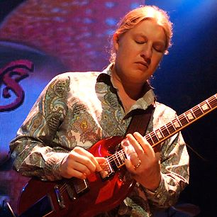Literally raised in the Allman Brothers family, Derek Trucks – the nephew of Allmans drummer Butch Trucks – started playing slide guitar at age nine and was touring by 12. But Trucks' precociousness was charged with an explorer's fever. When he stepped into the late Duane Allman's slide-guitar spot in the Allman Brothers Band in 1999, at age 20#Guitar # RecordsVinylLP #Vinyl Bay 777 Your Music Outlet #VinylBay777 Vinylbay bay777 #Musicoutlet #Outlet Records Record LP LPs CDs Collectibles…
