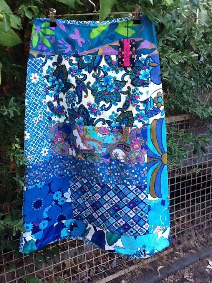 violet-clothing-blue-vintage-fabric-skirt