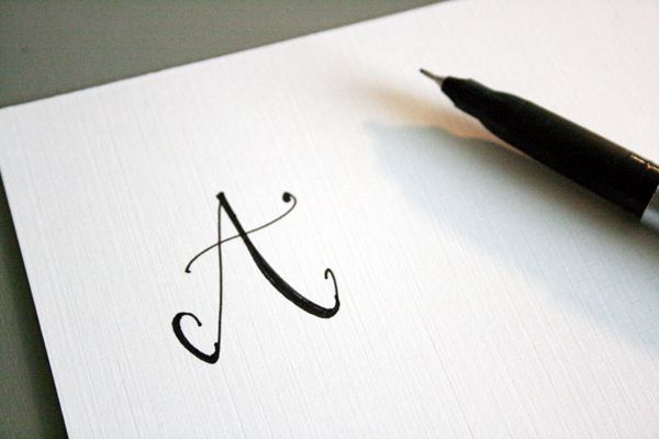 How to create fake calligraphy tutorial practice Easy calligraphy pen