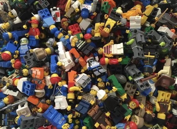 lego random pieces 1 Pound Bags Bonus Random Minifigure!