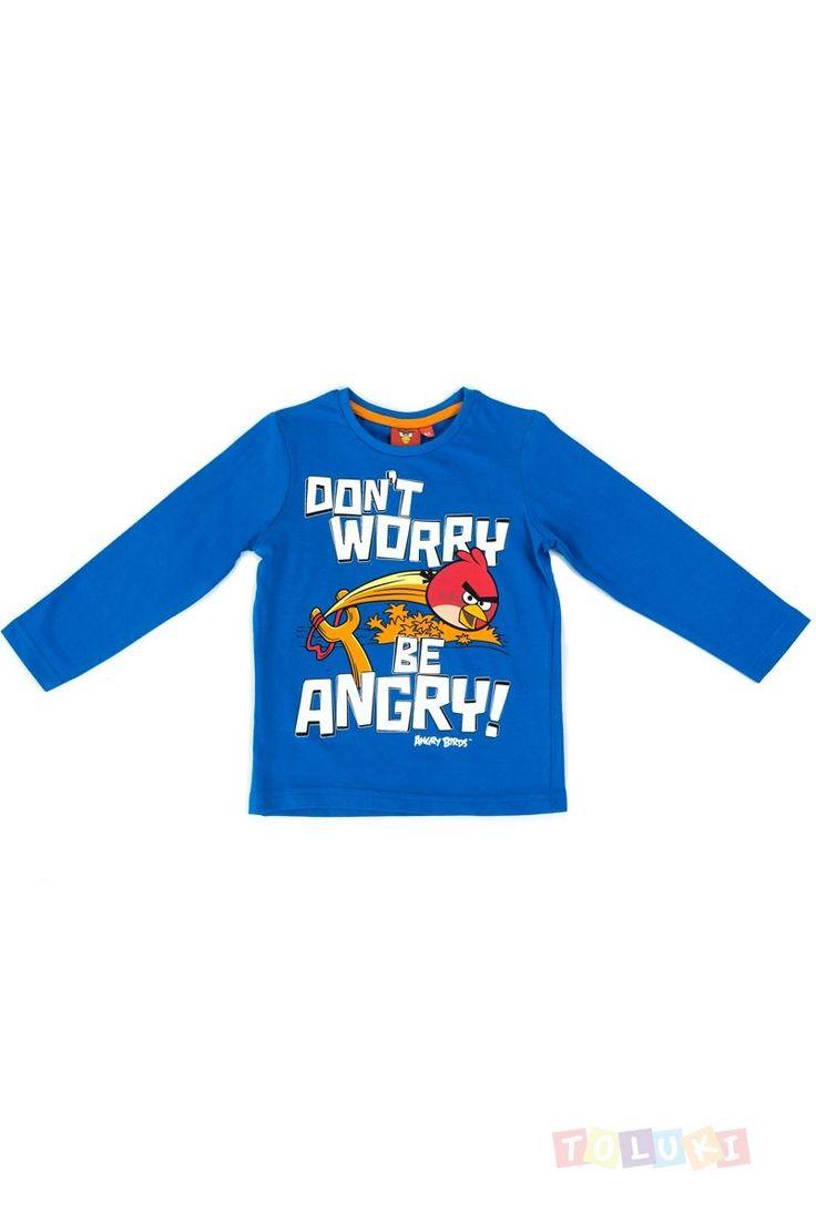 T-shirt Angry Birds bleu pour les petits écoliers qui déchirent ;) https://www.toluki.com/prod.php?id=688 #Toluki  rentrée scolaire, fourniture et vêtement D'autres modèles sont disponibles dans notre boutique en ligne