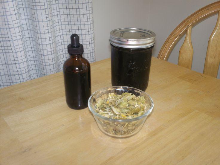 Deep Sleep Tincture.  Contains chamomile, lemon balm, catnip, hops, vegetable glycerin.  Simple to make! WORKS.
