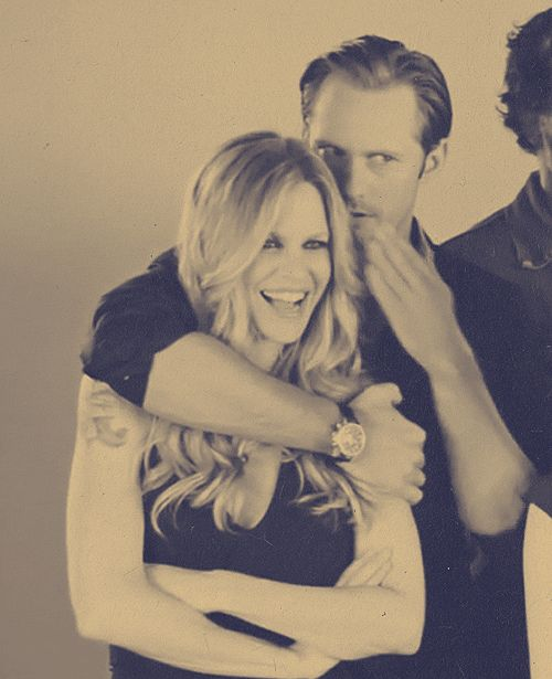 Pam and Eric - (Alexander and Kristin) True Blood (gif)