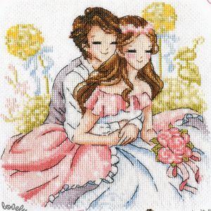 Cute wedding cross stitch <3