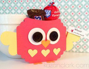 Adorable Owl Treat Bag | AllFreePaperCrafts.com