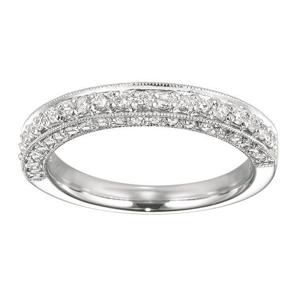 Trendy Diamond Wedding Band Diamond Wedding Band Band has a matching wedding band