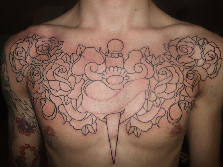 Chest Piece Tattoos (5)