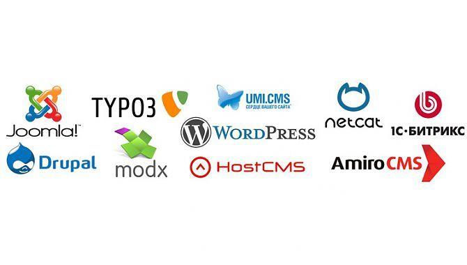 Какую CMS выбрать для разработки сайта?