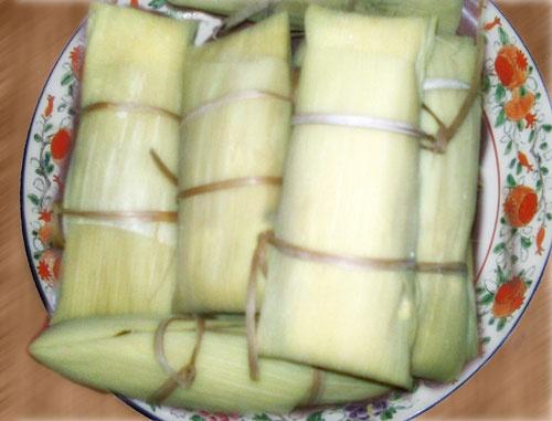 Lepet Jagung is tradisional food indonesian