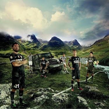 Juventus Jeep Advertisement
