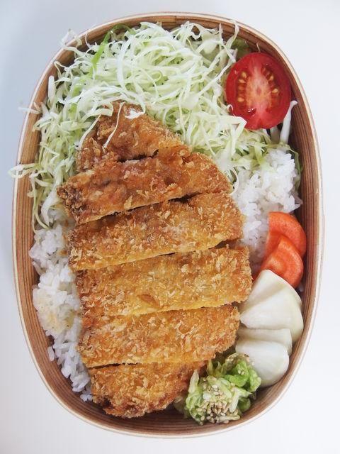 Tonkatsu Pork #bento ガッツリ豚カツ弁当