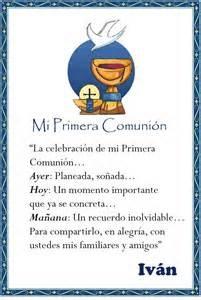 primera comunion tarjetas - Yahoo! Image Search Results
