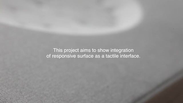 TTI, (standing for Tangible Textural Interface) is a new sound system that embeds a tactile surface. TTI has flexibility that enables people to physically touch and feel the response through the controls and physical morph of the surface. TTI delivers new aesthetics through integrated flexible surfaces as interface material unlike adapting conventional materials for interfaces such as plastic or glass. Unlike existing 2D interfaces, TTI has a curved 3D surface opening up new possibilities…