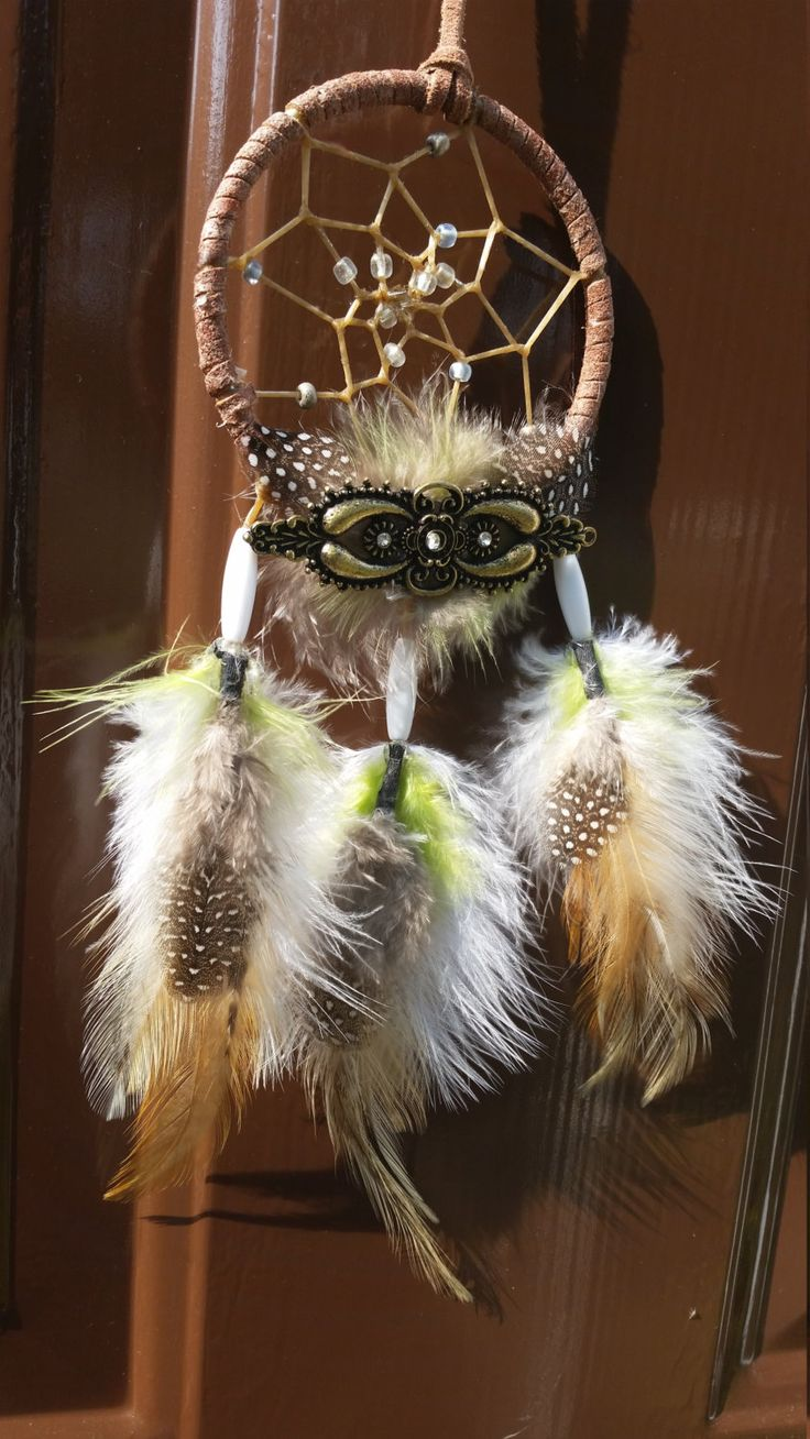 Green Gremlin Dreamcatcher by OptimisticOut1ook on Etsy
