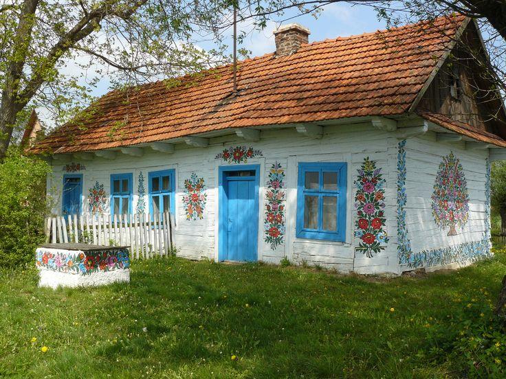 Zalipie - a painted village in Poland