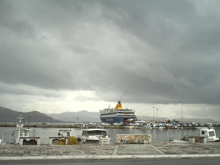 Βy Antonia Maitou  @Naxos, port