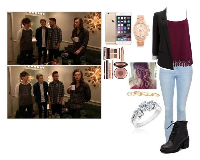 """""""With One Direction on Tour as Louis' Girlfriend"""" by desdall ❤ liked on Polyvore"""