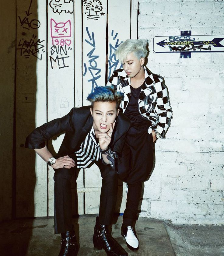 Big Bang G-Dragon and Tae Yang - Harper's Bazaar Magazine March Issue '14