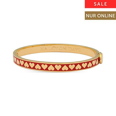Halcyon Days Armreif Skinny Heart Red & Gold 206/DH042 Halcyon Days Armreif Skinny Heart Red & Gold 206/DH042 jetzt € 89,90
