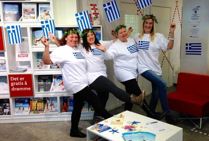 Besøk oss under greske dager i butikk - http://www.ticket.no/blogg/besok-oss-under-greske-dager-i-butikk/ #greskedager #hellas #tilbud #ticketferiereiser #ferie #reiseblogg