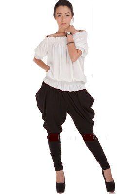 Женские брюки-галифе   Кому подходят и с чем носить женские брюки-галифе
