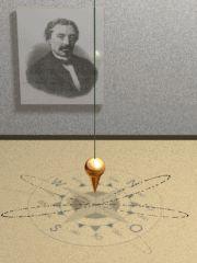 Animated Foucault Pendulum