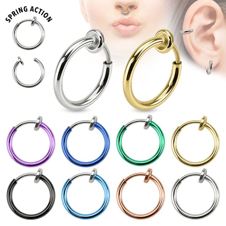 Fake Piercing Ring – STYLEKINGZZ