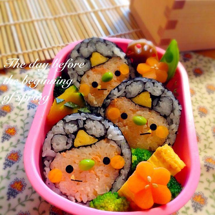 鬼さんトリオの節分巻き寿司*