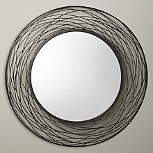 Buy John Lewis Fusion Swirl Mirror, Dia. 114cm Online at johnlewis.com