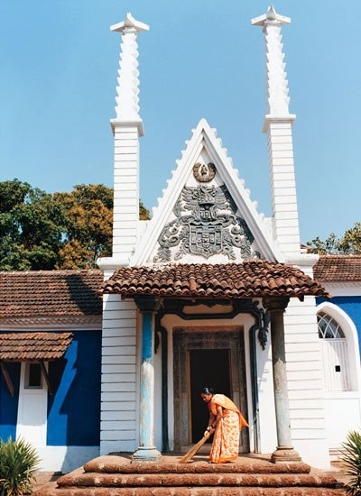 Calizz, a museum compromised of seven restored Portuguese homes, in North Goa.