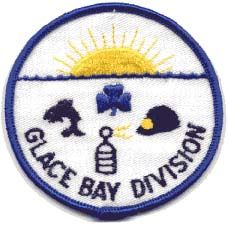 Glace Bay Division, Nova Scotia Girl Guides of Canada patch/crest. #GGC #Girl_Guides #patches