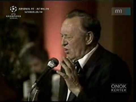 Bessenyei Ferenc: Komédiás dal - YouTube