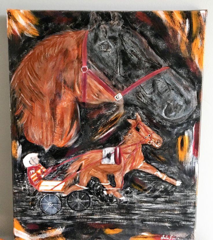 Élite : Vendu Pour une commande, cheval de course en toile abstraite. acrylique, pâtes, gel, résine et vernis.Toile à l'acrylique sur toile, pâtes, gel, vernis #artwork #art #abstrait #abstractart #artiste #peinture