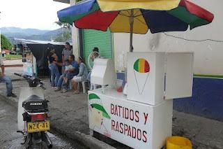 Puesto de Raspado en Villarrica Tolima
